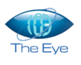 103 The Eye logo, listen to the show on FM and online