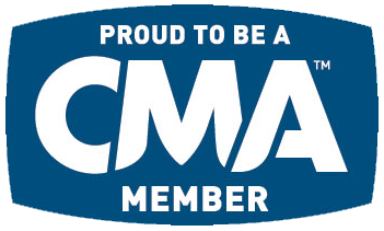 Logo of the Country Music Association of America or CMA.