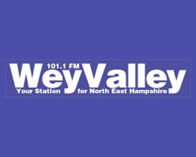 Wey Valley Radio logo, listen to the show on FM and online