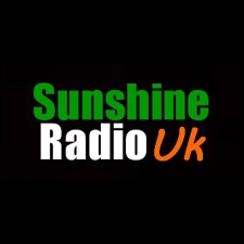 Sunshine Radio UK logo, listen to the show on FM and online