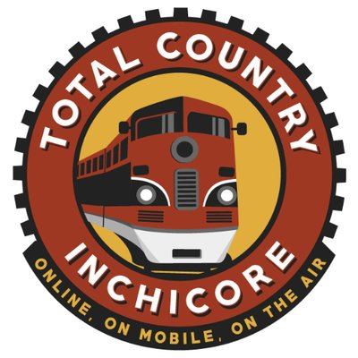 Total Country FM logo, listen to the show on FM and online