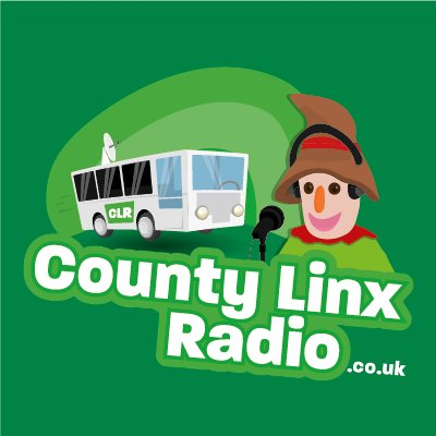 County Linx Radio logo, listen to the show on FM and online
